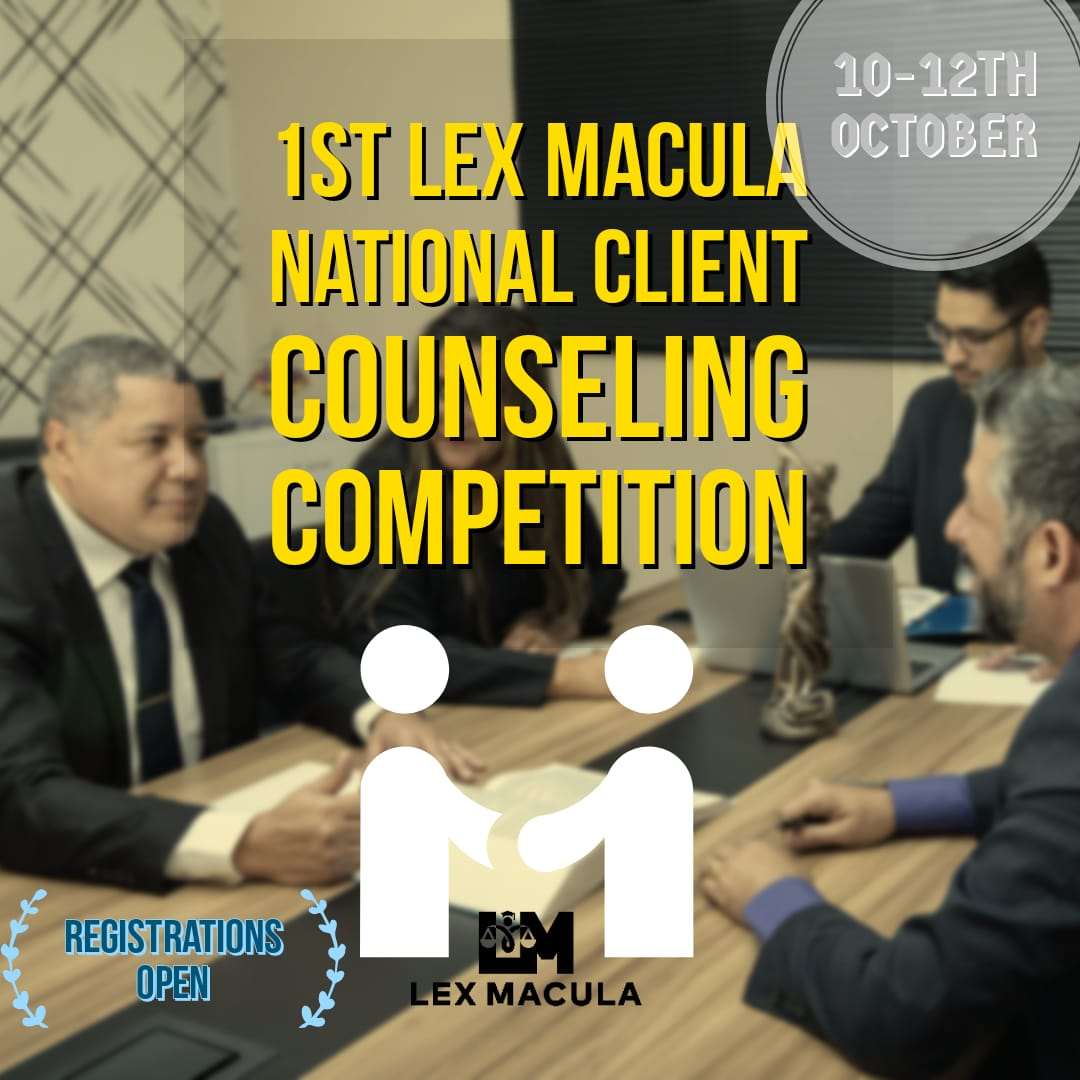 1st LEX MACULA VIRTUAL CLIENT COUNSELLINGCOMPETITION