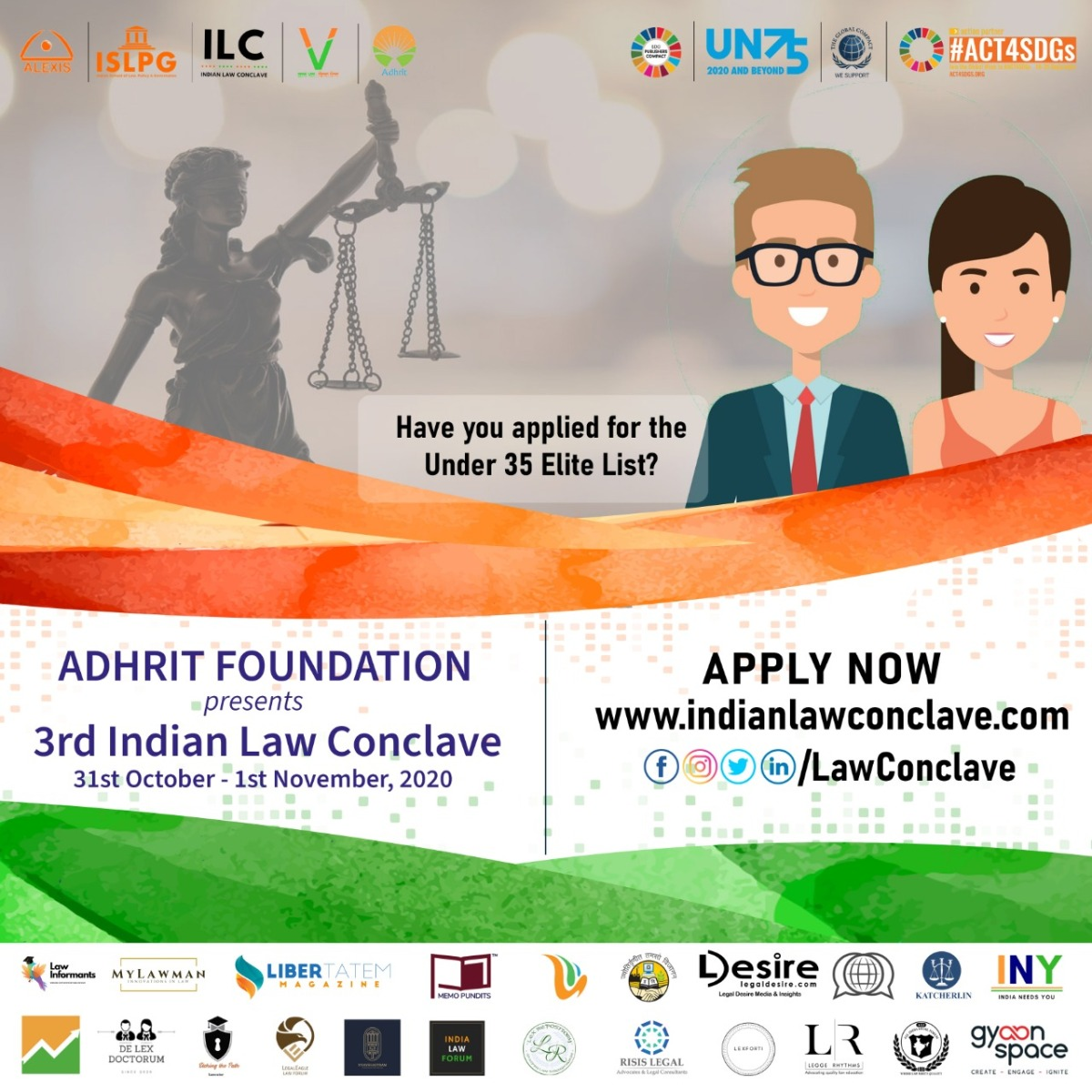 3rd Indian Law Conclave by AdhritFoundation