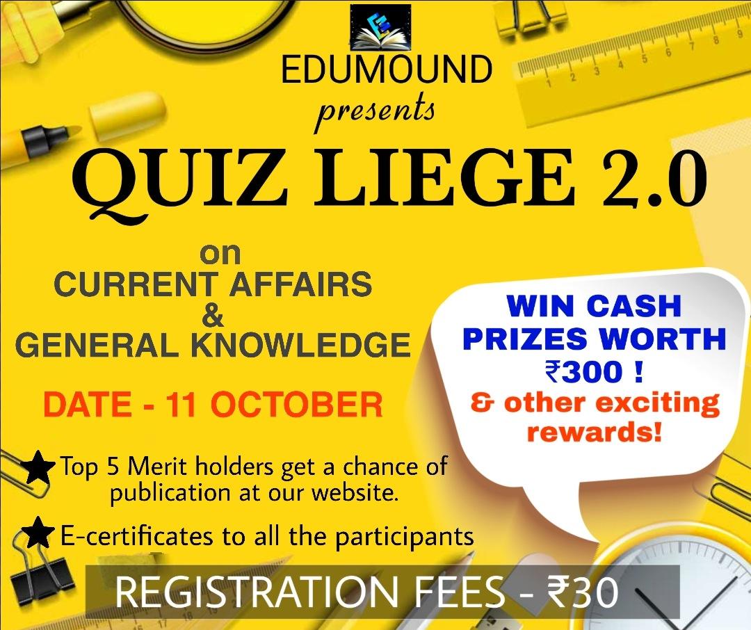 EduMound presents QUIZ LIEGE –2.O