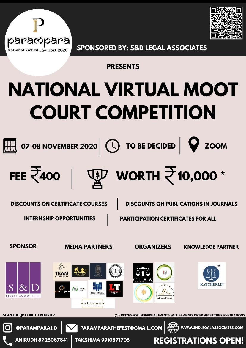PARAMPARA'S VIRTUAL MOOT COURTCOMPETITION