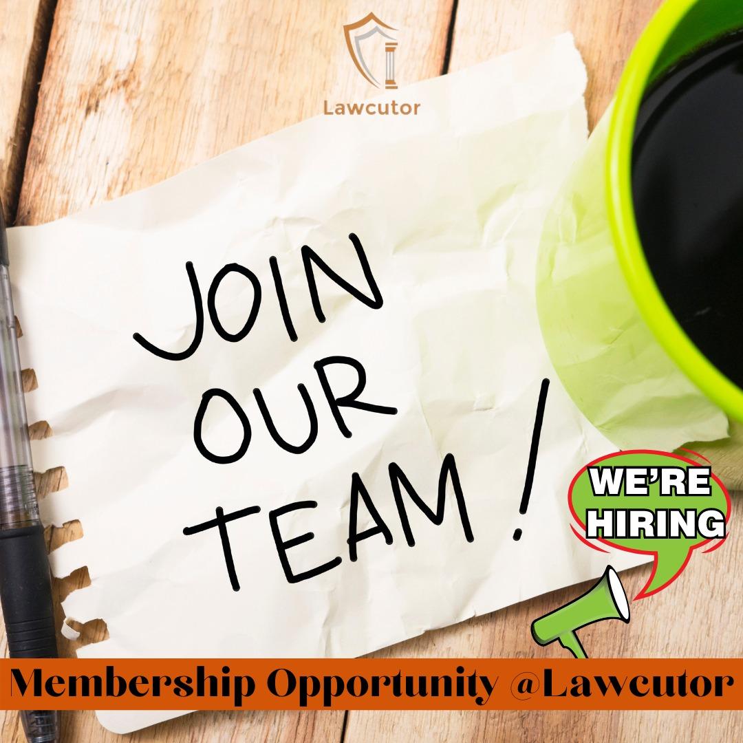Membership Opportunity atLawcutor