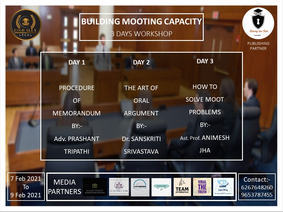 BUILDING MOOTING CAPACITY BY LOGICALLY LEGAL