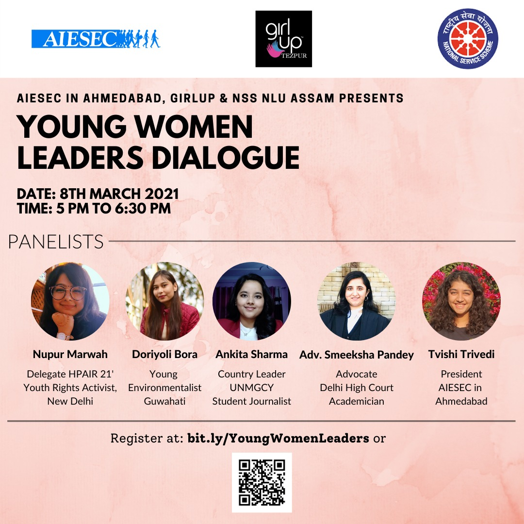 Young Women Leader's Dialogue by NSS unit of National Law University and Judicial Academy,Assam